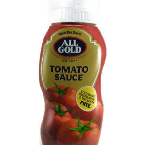 All Gold Squeezable Tomato Sauce 500ml (BE12)