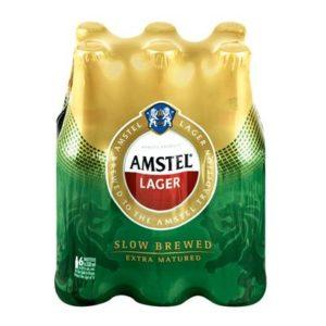 Amstel Lager Bottle 6 x 330ml (BA24)