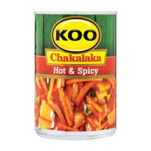 Koo Chakalaka Hot and Spicy With Beans 410g (BE13)