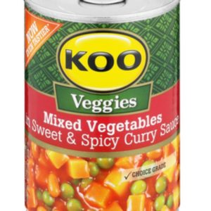Mixed Vegetable in Sweet and Spicy Curry Sauce 420g