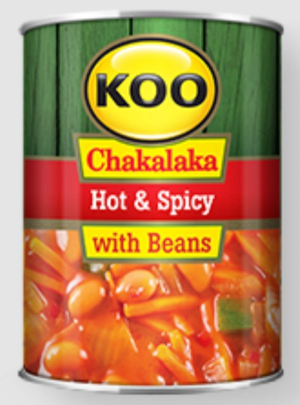 Chakalaka Hot and Spicy with Beans