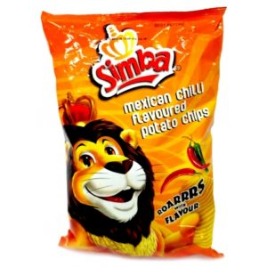 Simba Chips Mexican Chilli – 125g (BC21)