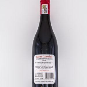 Haute Cabrière – Pinot Noir Unwooded (W05)