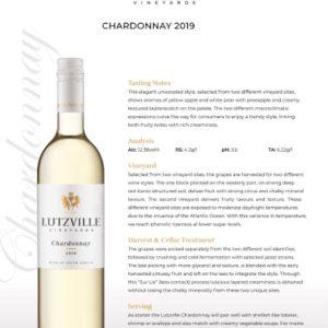 Lutzville – Chardonnay 2020 (W16)