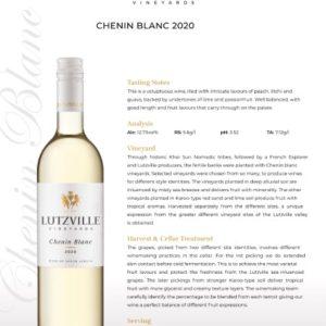 Lutzville – Chenin Blanc 2020 (W13)
