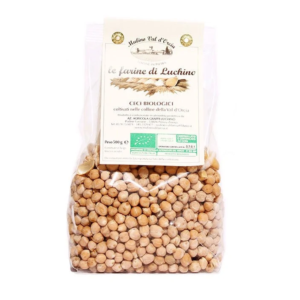 Organic chickpeas – Mulino Val d'Orcia 500 gr (BF21)